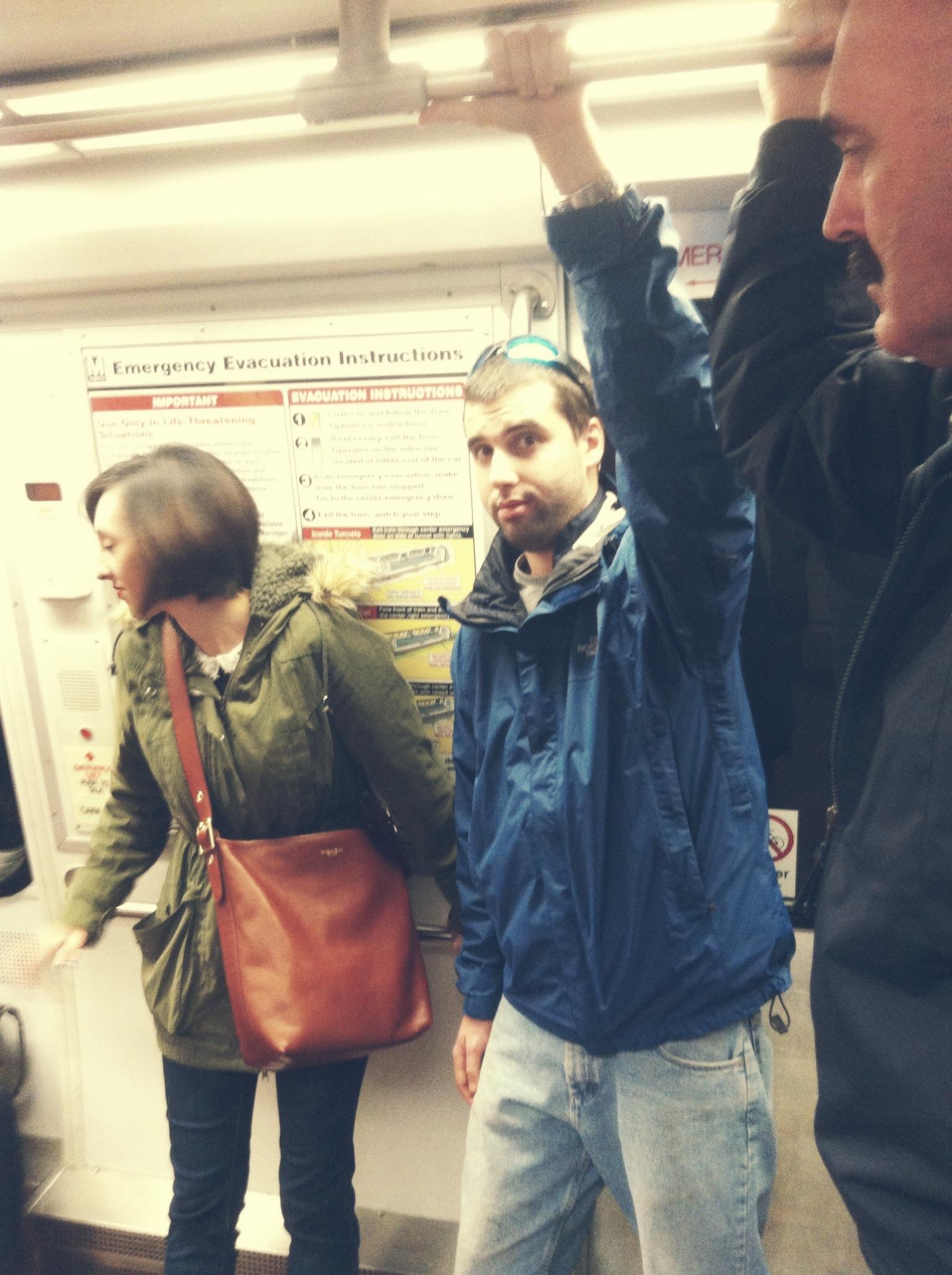 First metro ride