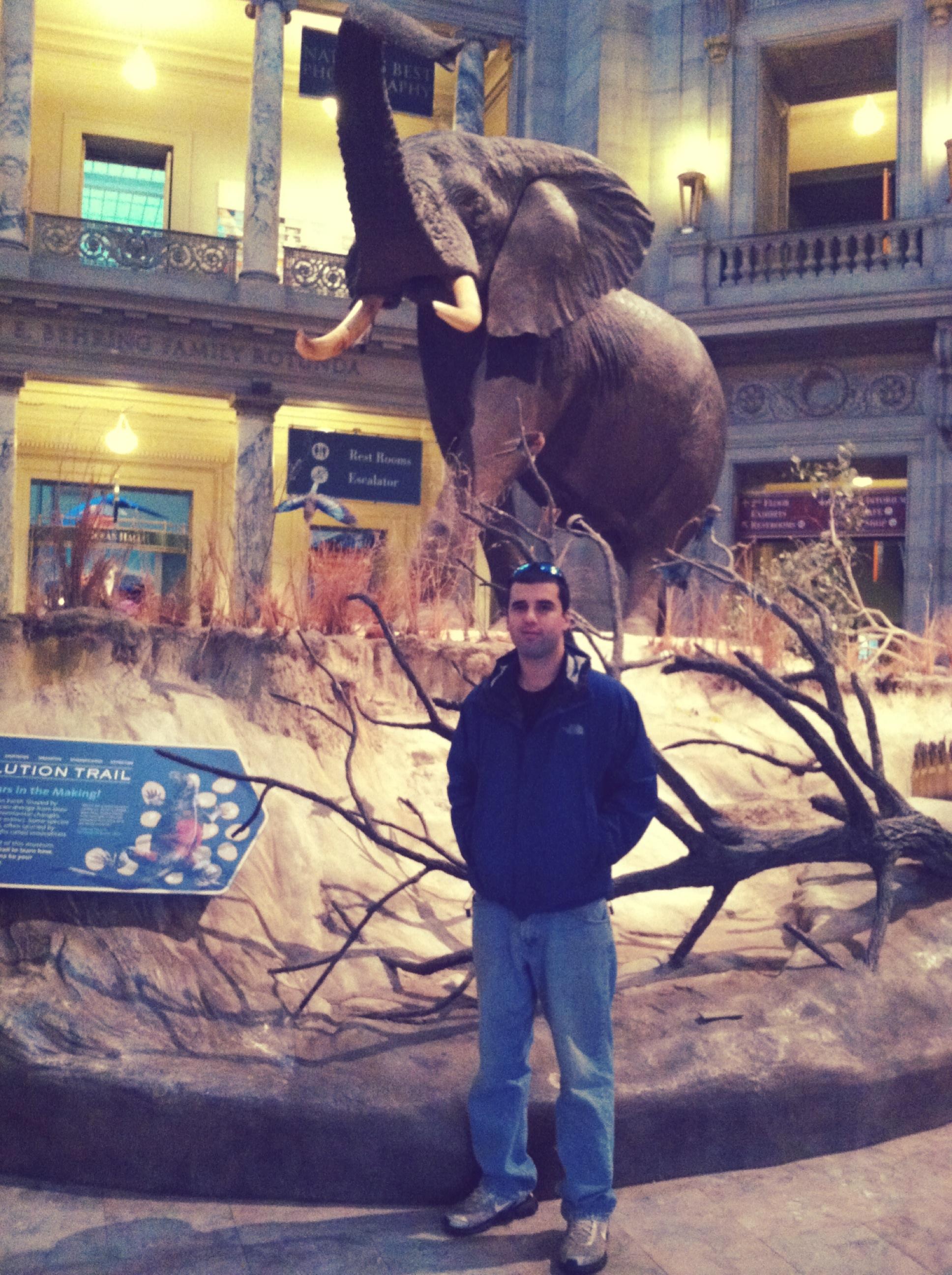 John at the Museum