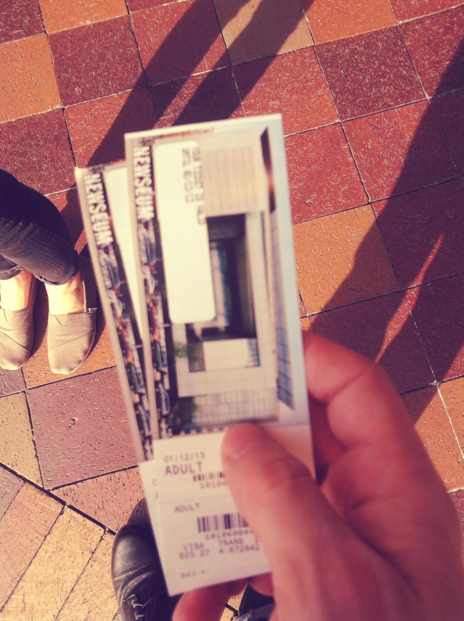 Newseum Tickets, Washington, DC